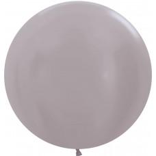 Большой шар жемчужно-бежевый перламутр