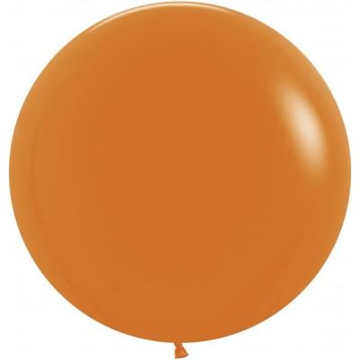 Большой шар оранжевый пастель