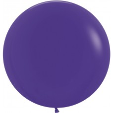 Большой шар фиолетовый пастель