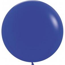 Большой шар синий пастель