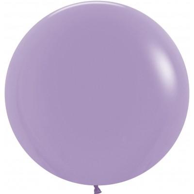 Большой шар сиреневый пастель