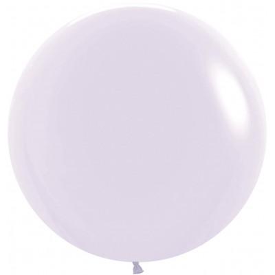 Большой шар Макарунс светло-сиреневый пастель