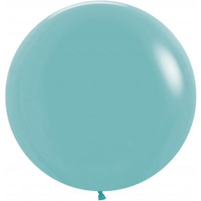Большой шар синяя бирюза пастель