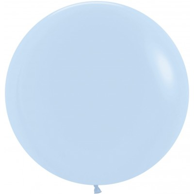 Большой шар Макарунс нежно-голубой пастель