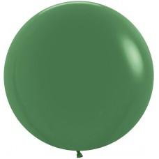 Большой шар темно-зеленый пастель
