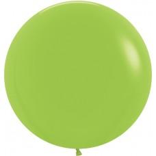 Большой шар лайм пастель