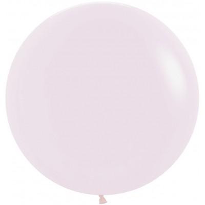 Большой шар Макарунс нежно-розовый пастель