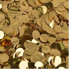 Конфетти фольга Круги золотые - 697