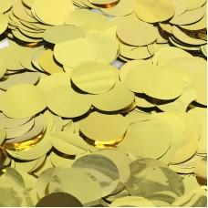 Конфетти фольга Круги золото - 683