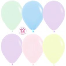 Воздушный шар Макарунс ассорти пастель (30 см)