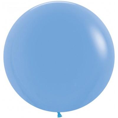 Воздушный шар голубой пастель (61 см)