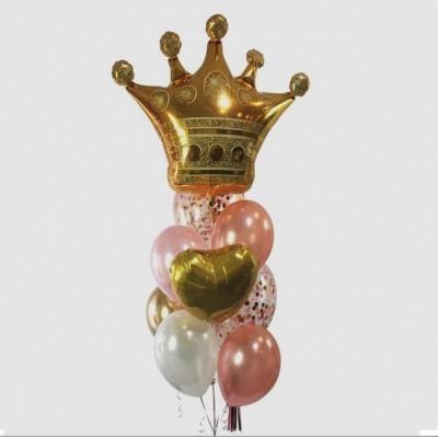 Композиция из шаров Королева
